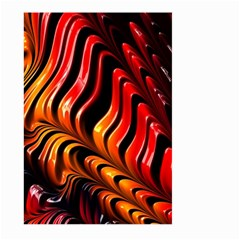 Fractal Mathematics Abstract Large Garden Flag (two Sides)
