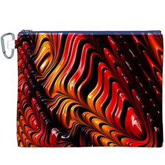 Fractal Mathematics Abstract Canvas Cosmetic Bag (XXXL)