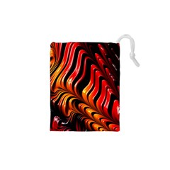 Fractal Mathematics Abstract Drawstring Pouches (xs)