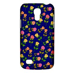 Flowers Roses Floral Flowery Blue Background Galaxy S4 Mini