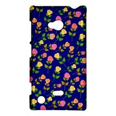 Flowers Roses Floral Flowery Blue Background Nokia Lumia 720