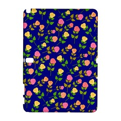 Flowers Roses Floral Flowery Blue Background Galaxy Note 1