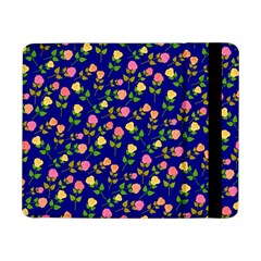 Flowers Roses Floral Flowery Blue Background Samsung Galaxy Tab Pro 8.4  Flip Case