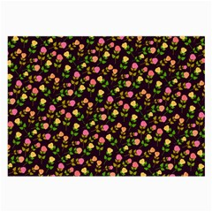 Flowers Roses Floral Flowery Large Glasses Cloth