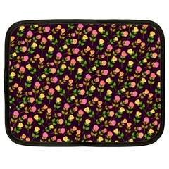 Flowers Roses Floral Flowery Netbook Case (xl)