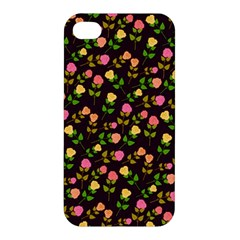 Flowers Roses Floral Flowery Apple iPhone 4/4S Hardshell Case
