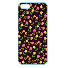 Flowers Roses Floral Flowery Apple Seamless iPhone 5 Case (Color)