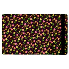 Flowers Roses Floral Flowery Apple iPad 3/4 Flip Case