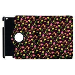 Flowers Roses Floral Flowery Apple iPad 3/4 Flip 360 Case
