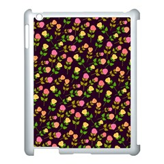 Flowers Roses Floral Flowery Apple iPad 3/4 Case (White)