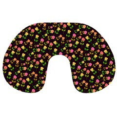 Flowers Roses Floral Flowery Travel Neck Pillows
