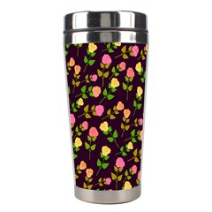 Flowers Roses Floral Flowery Stainless Steel Travel Tumblers