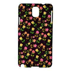 Flowers Roses Floral Flowery Samsung Galaxy Note 3 N9005 Hardshell Case