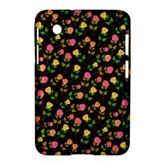 Flowers Roses Floral Flowery Samsung Galaxy Tab 2 (7 ) P3100 Hardshell Case