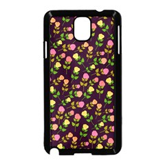 Flowers Roses Floral Flowery Samsung Galaxy Note 3 Neo Hardshell Case (Black)