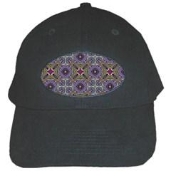 Vintage Abstract Unique Original Black Cap