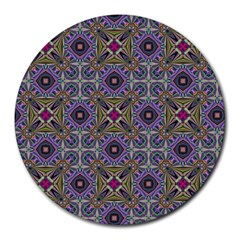 Vintage Abstract Unique Original Round Mousepads
