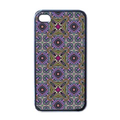 Vintage Abstract Unique Original Apple iPhone 4 Case (Black)