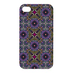 Vintage Abstract Unique Original Apple iPhone 4/4S Premium Hardshell Case
