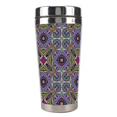 Vintage Abstract Unique Original Stainless Steel Travel Tumblers