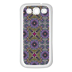 Vintage Abstract Unique Original Samsung Galaxy S3 Back Case (White)