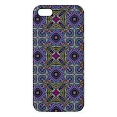 Vintage Abstract Unique Original iPhone 5S/ SE Premium Hardshell Case