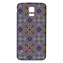 Vintage Abstract Unique Original Samsung Galaxy S5 Back Case (White)