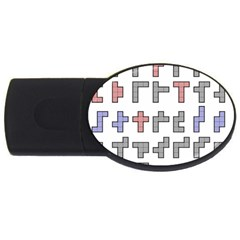 Hexominos USB Flash Drive Oval (1 GB)