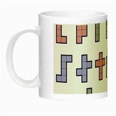 Hexominos Night Luminous Mugs