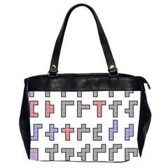 Hexominos Office Handbags (2 Sides)