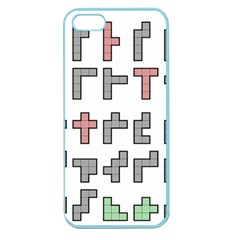 Hexominos Apple Seamless iPhone 5 Case (Color)
