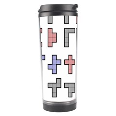 Hexominos Travel Tumbler