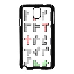 Hexominos Samsung Galaxy Note 3 Neo Hardshell Case (Black)