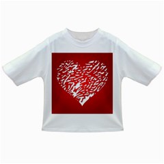 Heart Design Love Red Infant/Toddler T-Shirts
