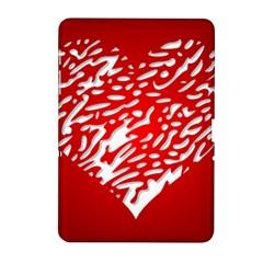 Heart Design Love Red Samsung Galaxy Tab 2 (10.1 ) P5100 Hardshell Case