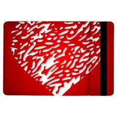 Heart Design Love Red iPad Air Flip