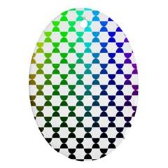 Half Circle Ornament (Oval)