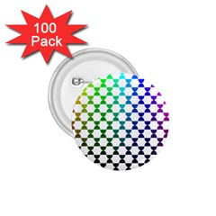 Half Circle 1 75  Buttons (100 Pack)