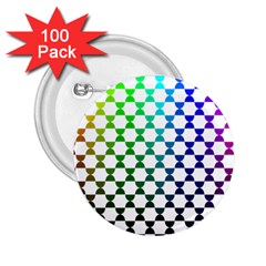 Half Circle 2.25  Buttons (100 pack)