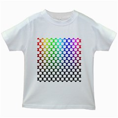 Half Circle Kids White T-Shirts