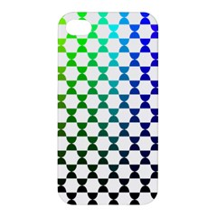 Half Circle Apple iPhone 4/4S Premium Hardshell Case