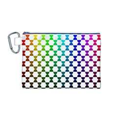 Half Circle Canvas Cosmetic Bag (M)