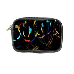 Yellow Blue Red Arcs Light Coin Purse