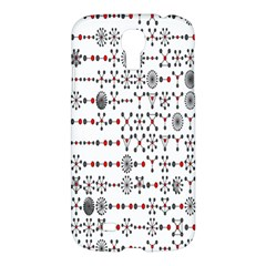 Bioplex Random Kimia Circle Grey Red Samsung Galaxy S4 I9500/i9505 Hardshell Case