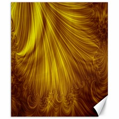 Flower Gold Hair Canvas 20  x 24