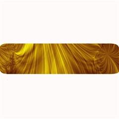 Flower Gold Hair Large Bar Mats