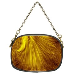 Flower Gold Hair Chain Purses (Two Sides)