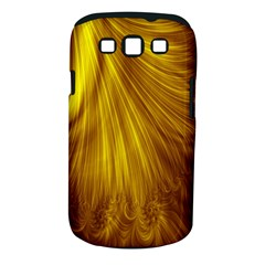 Flower Gold Hair Samsung Galaxy S III Classic Hardshell Case (PC+Silicone)