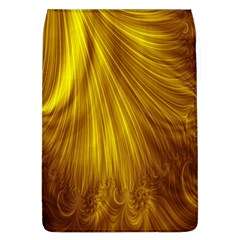 Flower Gold Hair Flap Covers (L)