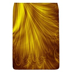 Flower Gold Hair Flap Covers (S)